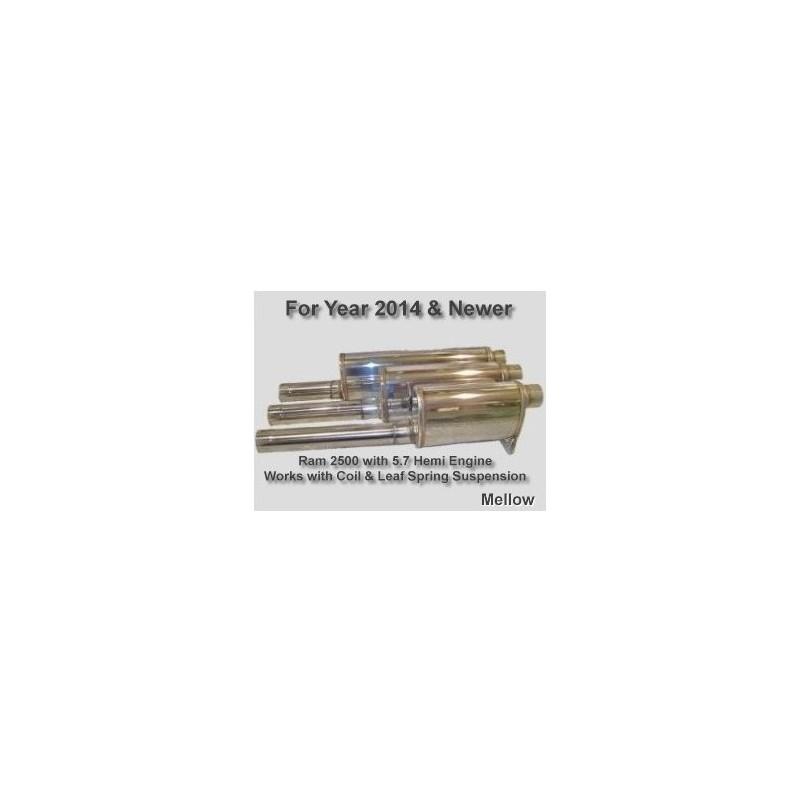 2014 & Up Ram 2500 5.7 Hemi Coil & Leaf Springs (Mellow)