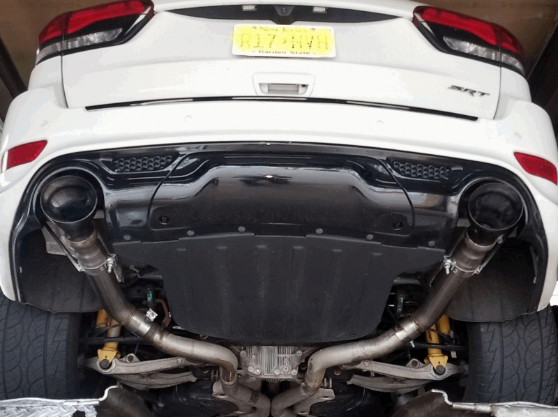 Rear Muffler Bypass (L & R) for the 2012 and newer Jeep SRT8